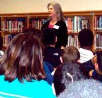 Jinan Powers tells in the Denton area schools.